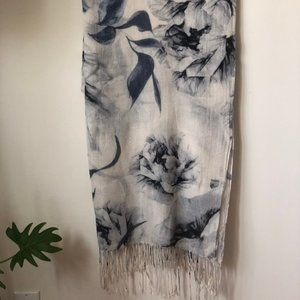 Floral Scarf/Wrap